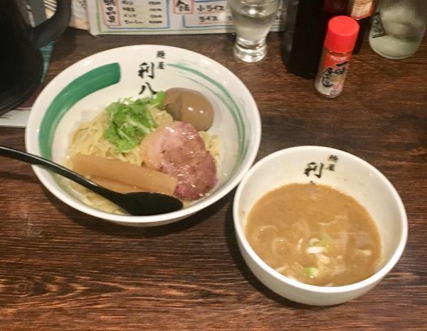 「酒粕(結城酒造)【限定】+味玉」@自家製麺 麺屋 利八の写真