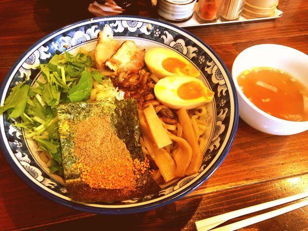 「魚介油そば」@麺屋 桜の写真