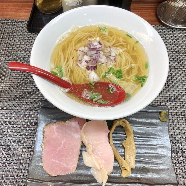 「鯵塩そば¥780」@麺や 睡蓮の写真