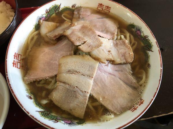 「チャーシューメン」@松屋製麺所の写真