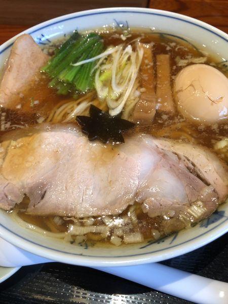 「特製中華そば」@食煅 もみじの写真