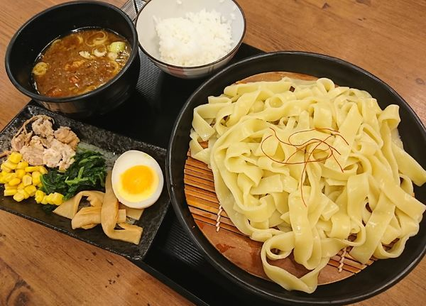「Aセット¥800+魚介豚骨カレーに変更¥60=¥860」@カレー・つけ麺 とろとんの写真