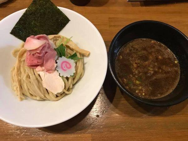 「濃厚魚介つけ麺」@馳走麺 狸穴の写真