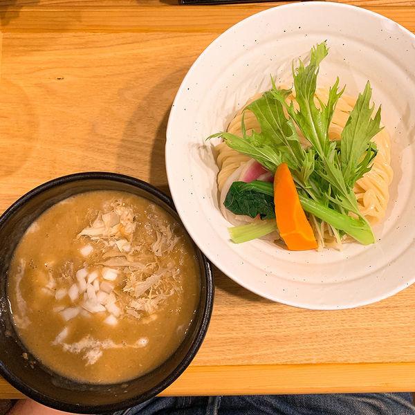 「カレーつけ麺 中」@つけ麺 竹川の写真