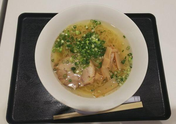 「函館あっさりねぎ塩中華421円」@サンクロの写真