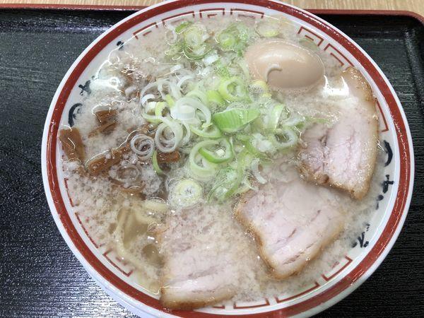 「らーめん味玉 こってり」@田中そば店 ららぽーと名古屋みなとアクルス店の写真