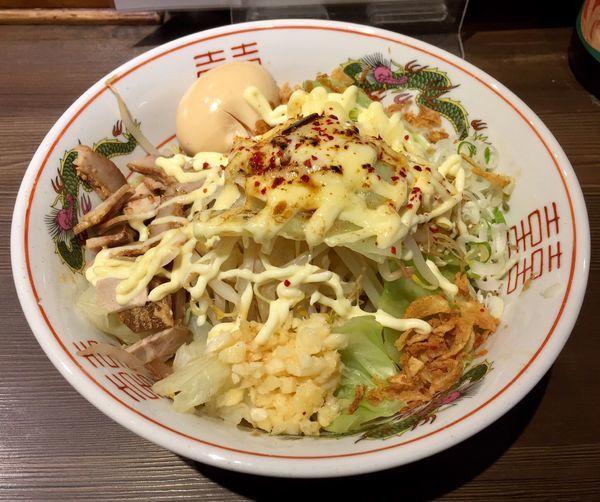 「ハイカロリー(ニンニク入り)+味玉」@拉麺5510の写真