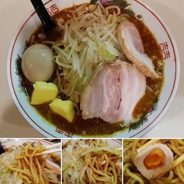 「スープカレーそば+バター=930円」@麺家ぶんすけの写真