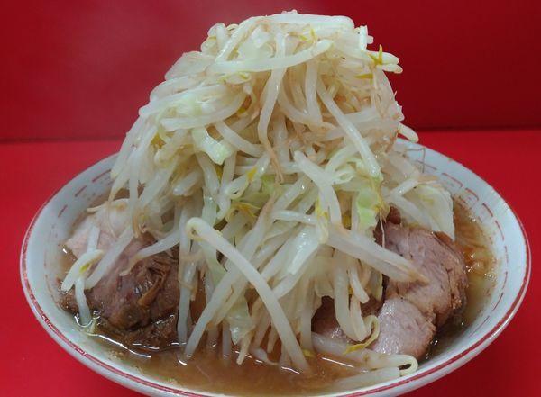 「小ラーメン豚入り」@ラーメン二郎 松戸駅前店の写真