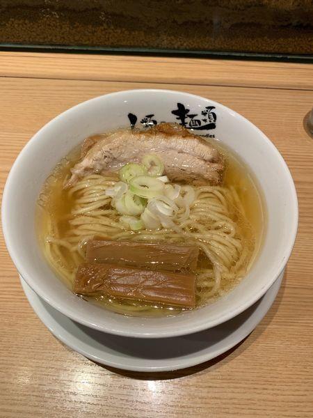 「ラーメンmacro(800円)」@人類みな麺類の写真