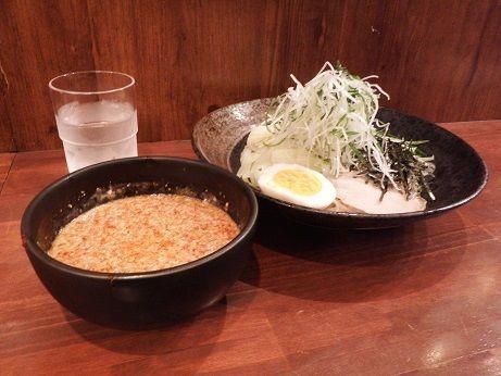 「広島つけ麺 小(110g)」@ばくだん屋 渋谷店の写真