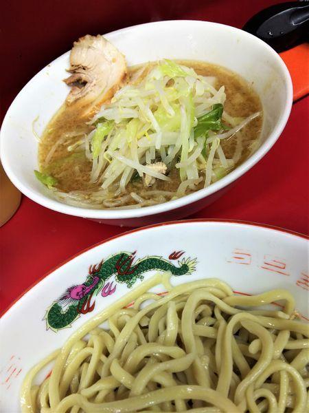「ラーメン¥730+つけ¥50(麺少なめ、ヤサイ)」@ラーメン二郎 湘南藤沢店の写真