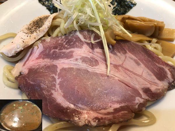 「濃厚鶏白湯つけ麺(大)」@麺屋774の写真