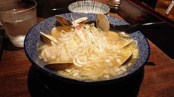 「はまぐりラーメン980円(込)」@和風楽麺 四代目 ひのでやの写真