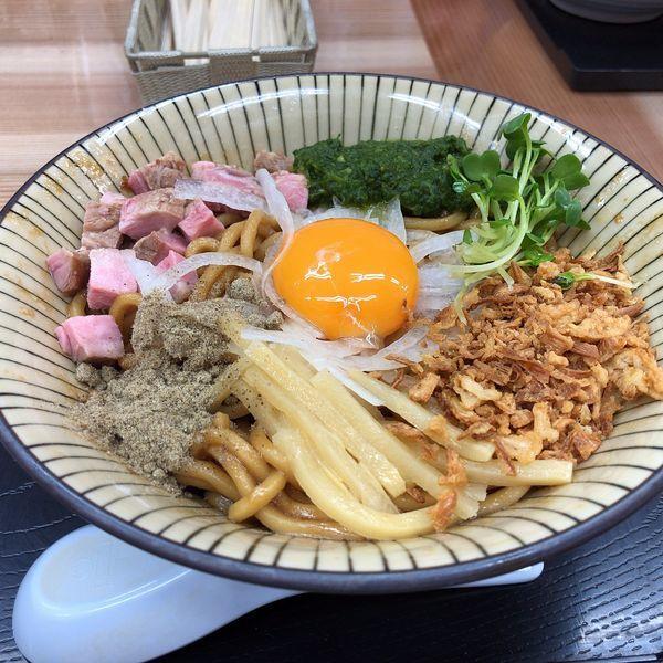 「J.Jモッシュそば(700円)」@仮麺中(角打ち わかさや)の写真