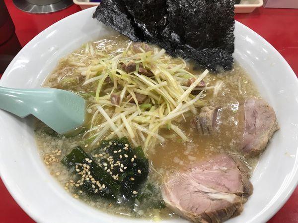 「かいざんラーメン+中盛 850+100円」@ラーメン かいざん 新小岩店の写真