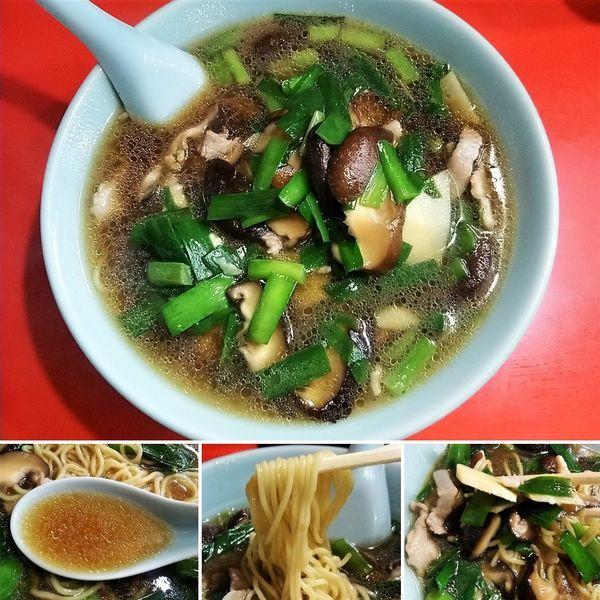 「韭菜香菇麺(ニラシイタケメン) 800円」@十八番の写真
