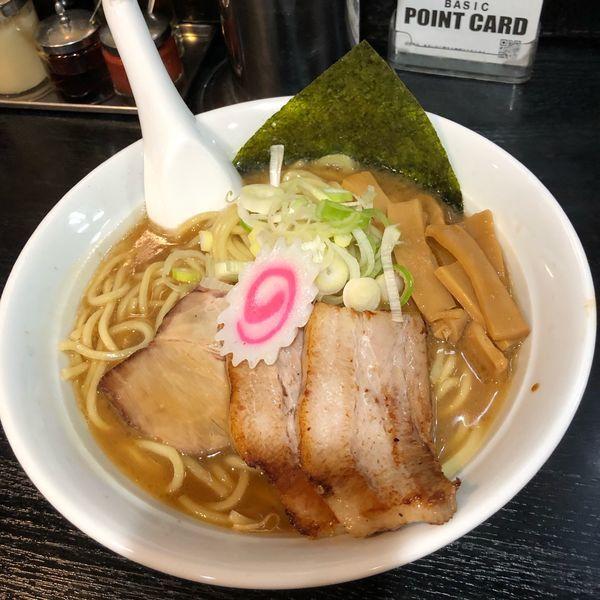 「チャーシュー麺」@大勝軒まるいち 赤羽店の写真