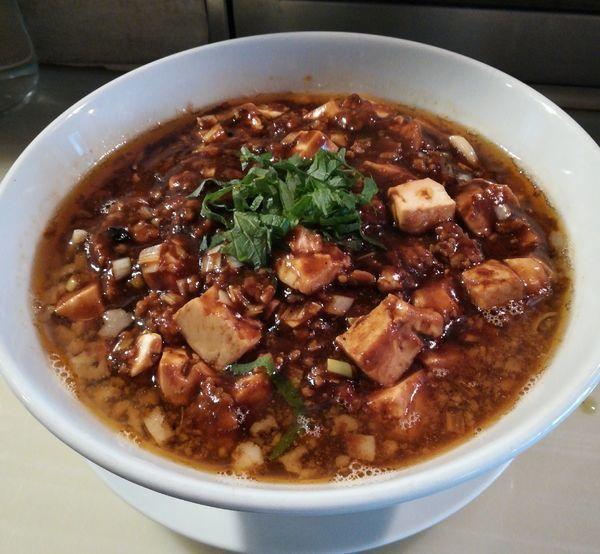 「【期間限定】麻婆麺」@麺割烹亀壱の写真
