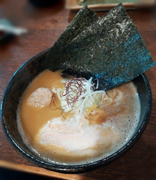 「【深夜限定】鶏白湯麺」@麺や ふくろうの写真