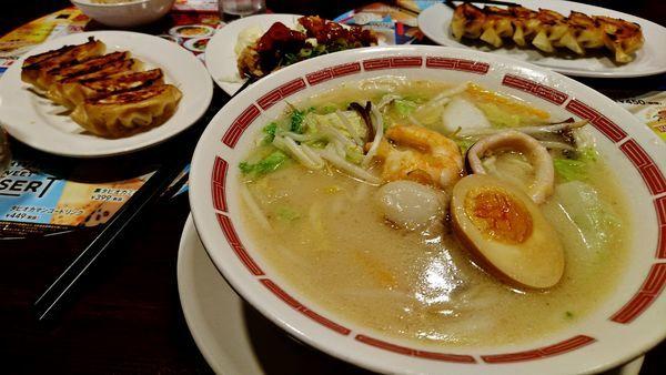 「限定/海鮮3種と野菜の具だくさん太平燕+他」@バーミヤン 玉川上水店の写真