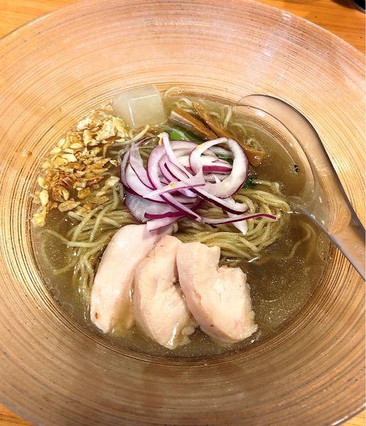 「【限定】冷やしらぁ麺(お茶漬けセット)」@麺屋 さくら井の写真