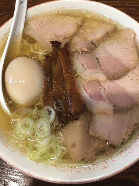「中華そば+焼豚+味玉」@中華そば さとう 大船店の写真