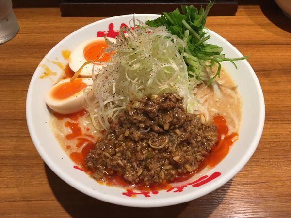 「アサヒスーパードライ生中 → 冷やし担々麺」@なんつッ亭 御徒町店の写真
