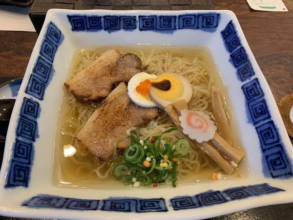 「竹燻製麺大盛」@玉響 東浦店の写真