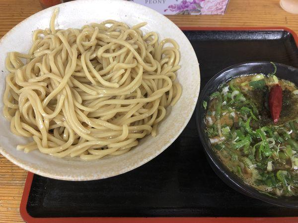 「カレーつけ麺(特盛)&ネギ増し¥50」@つけめん・らあめん 福は内の写真