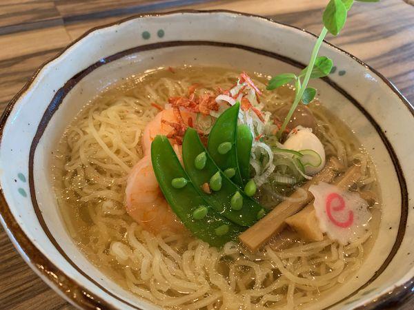 「竹燻製麺大盛」@玉響 西尾店の写真