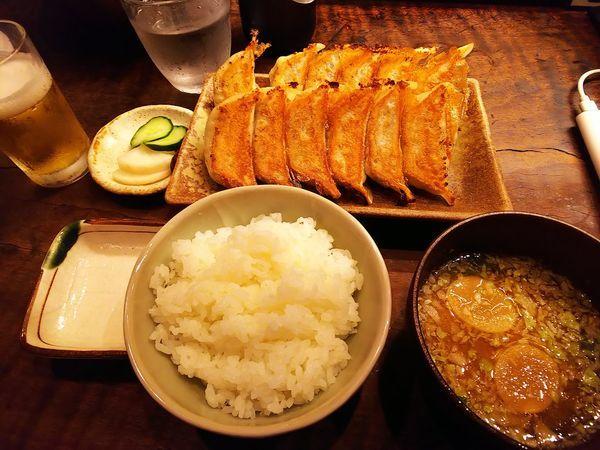 「餃子定食」@ぎょうざ屋 高辻 亮昌の写真
