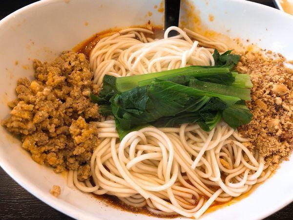 「汁無し坦々麺」@中国家庭料理 楊 十条店の写真