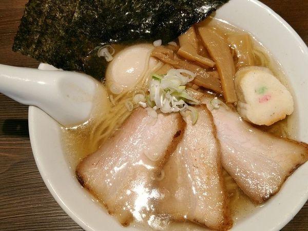 「魚しろたまり+贅沢のせ」@拉麺5510の写真