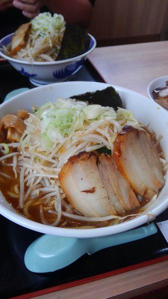 「野菜らーめん(大盛)」@麺屋ゆうの写真
