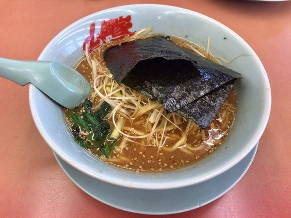 「味噌ネギラーメン」@ラーメン山岡家 熊谷店の写真
