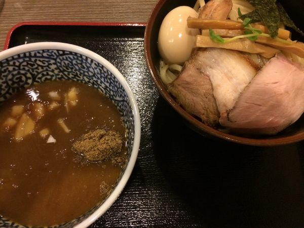 「特製つけ麺(中盛)1080円」@麺処 いぐさの写真