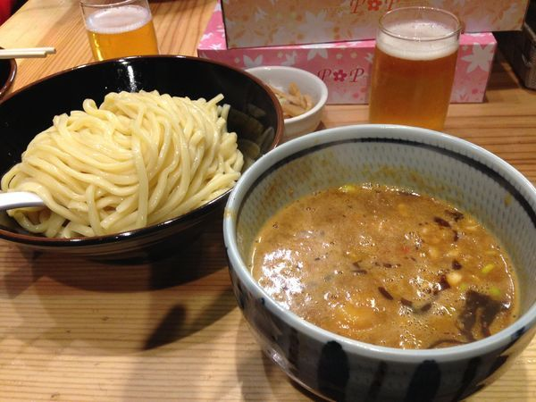 「濃厚つけ麺」@銀座 朧月の写真