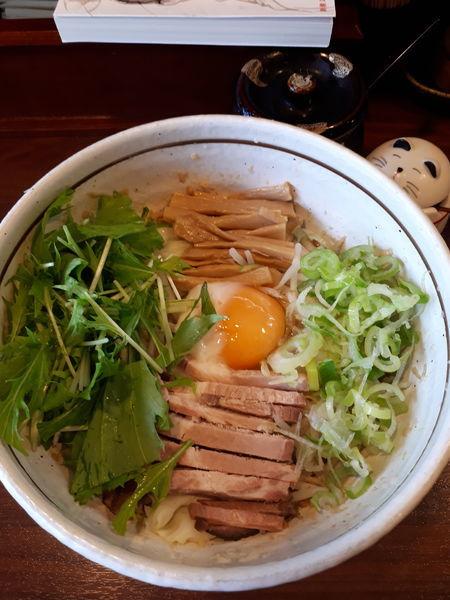 「こってり汁なし750円」@麺屋 旬の写真