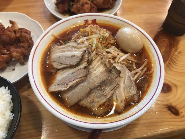 「特製スタミナラーメン」@奈良天理ラーメン 天風 豊川店の写真