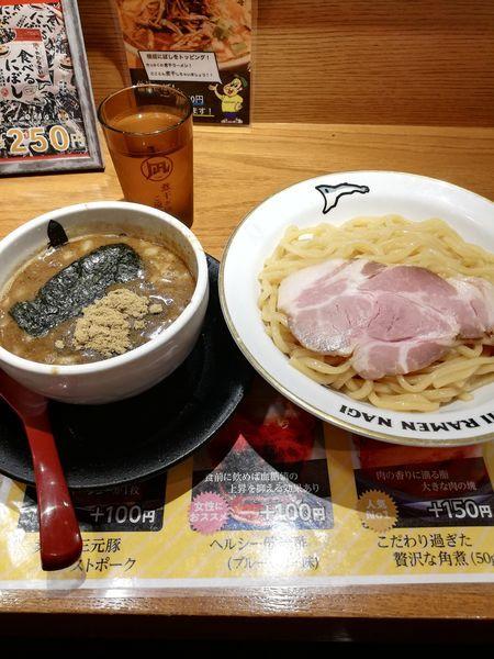 「すごい煮干つけ麺」@すごい煮干ラーメン凪 新宿ゴールデン街店 別館の写真
