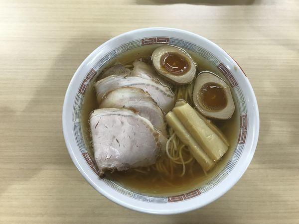 「特製煮干しらーめん」@煮干鰮らーめん 圓 名古屋大須店の写真