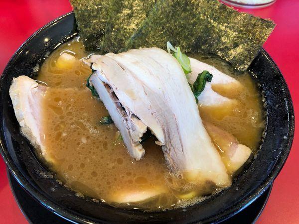 「チャーシュー麺」@家系ラーメン王道 王道之印の写真