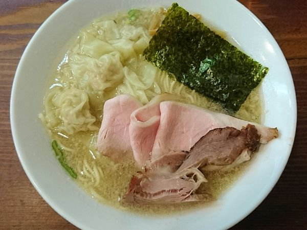 「雲呑麺(塩)」@良温(Ra-on)の写真