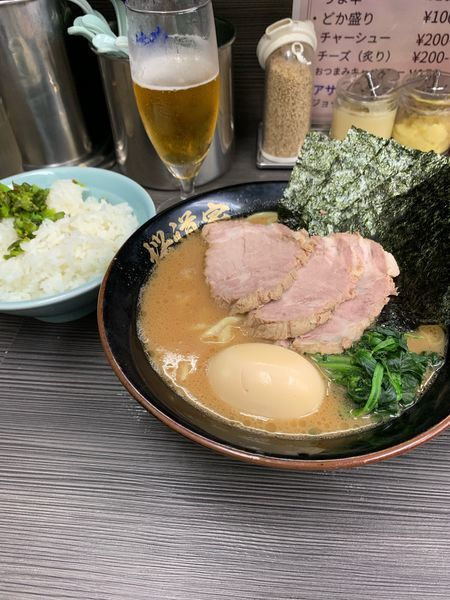 「特製ラーメン」@桜道家 桜上水店の写真