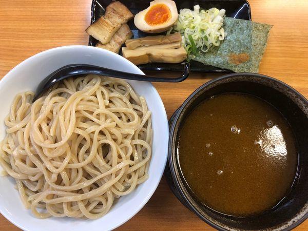「超濃厚魚介つけ麺・大盛」@つけ麺 らーめん 大新の写真