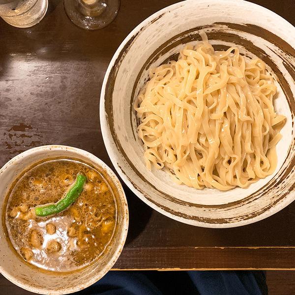 「【ゲリラ限定】スープカレーつけ麺」@づゅる麺 池田の写真