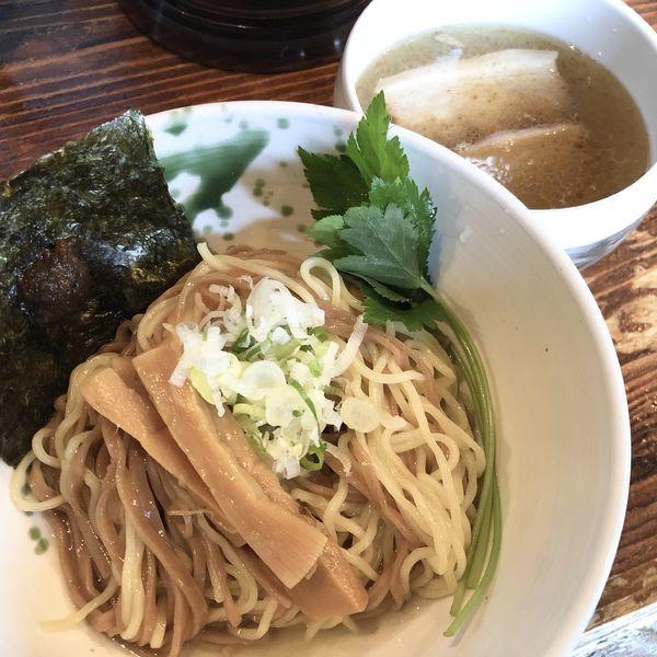 「ザ・しおつけ麺(温かいスープ)」@啜磨専科の写真