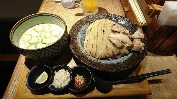 「冷汁つけ麺_780円」@味噌が一番 中野サンモール店の写真