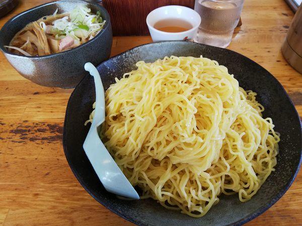 「【限定】つけ麺 (麺特盛り(400g):同価格)」@ハルピンラーメン 本店の写真